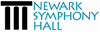Newark Symphony Hall - Special Ensemble Sponsor