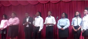 """The Blood"" at Ordained Praise Concert"